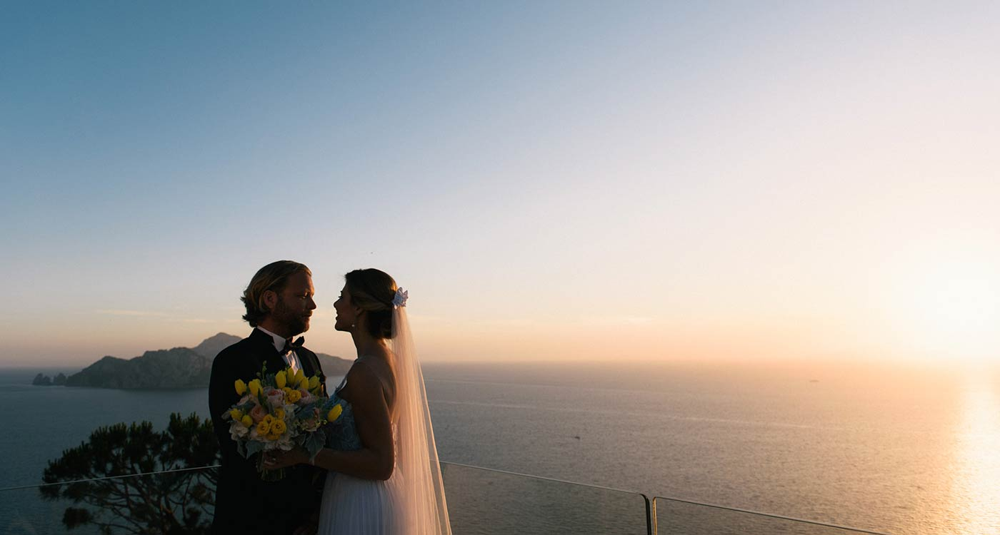 Contact us - Italian seaside wedding planners